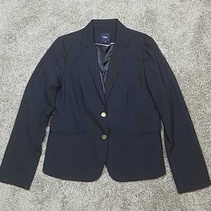 🔥 Gap Career Work Navy Two Button Closure Jacket